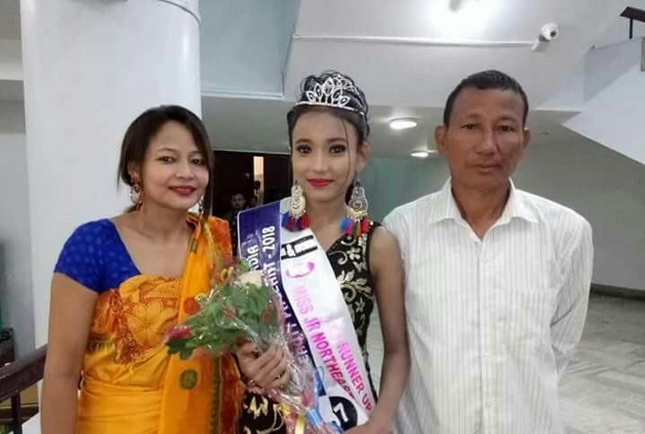 सुयेटि गयारिआ Miss Junior North East India 2018 बिमुं