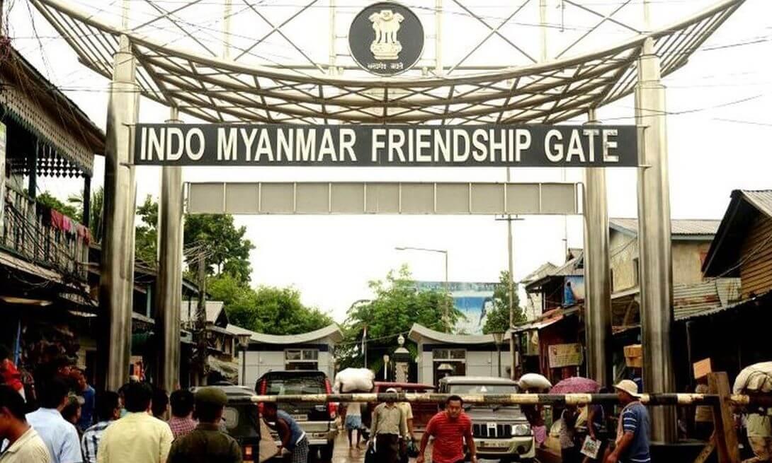 भारत-मयनमार सिमाखौ फालांगिनि थाखाय बेखेवबाय