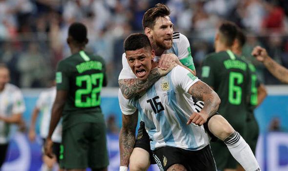 FIFA बुहुम काप 2018: अर्जेटीनाया नाइजीरियाखौ 2-1 आव फेजेनो