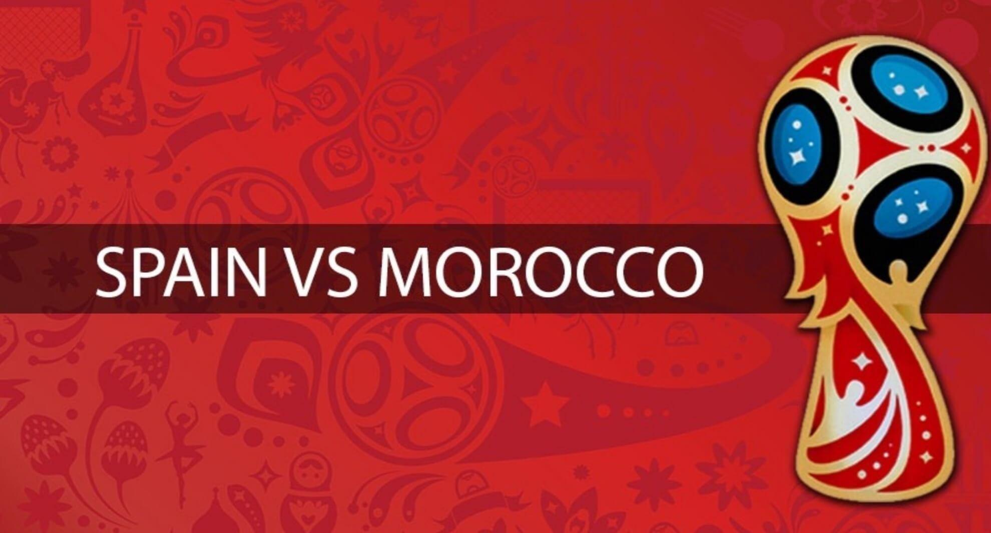 बुहुम काप 2018: स्पेनआ मोरक्कोनि बेरेखा 2-2 खालामनो हायो