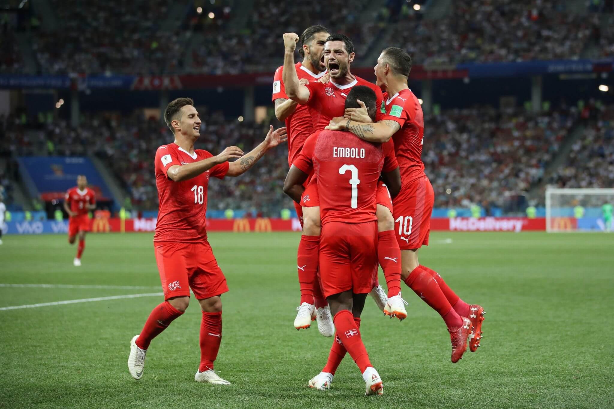 FIFA बुहुम काप 2018:स्विट्जारलैंड आरो कोस्तारिकाया 2-2 खालामो