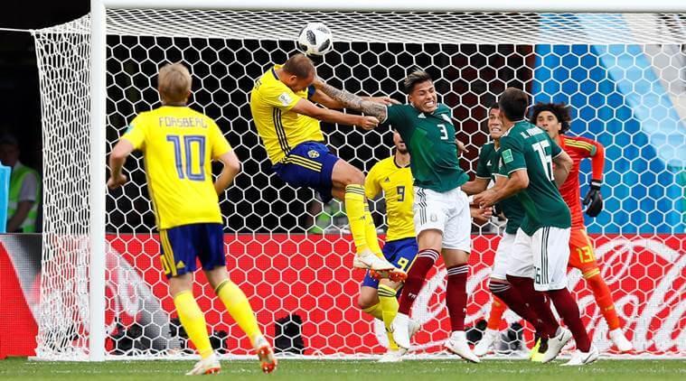 FIFA बुहुम काप 2018: स्वीडनआ मेक्सिकोखौ 3-0 आव फेजेनो