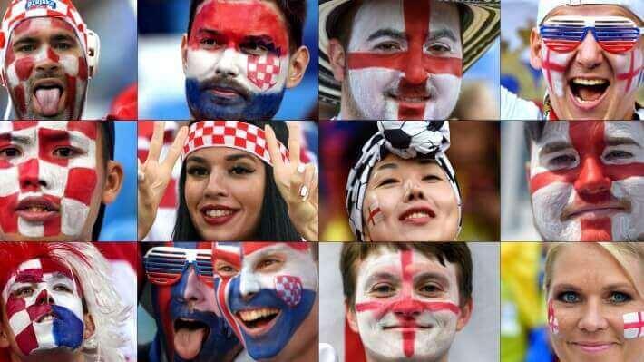 Semi-final: क्रोएसियाआ इंलैंडखौ 2-1 आव फेजेनो