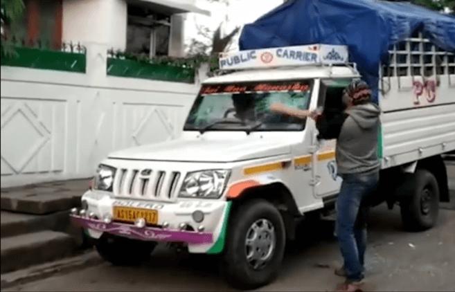 आसाम बन्द': गुवाहाटी नोगोरमायाव हिंसायारि जाथाय, सा 10 सो सुबुंखौ पुलिसआ खायो